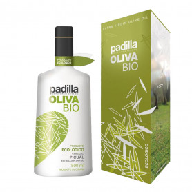 Padilla Bio - Ecológico - Picual - 12 Botellas con estuche 500 ml
