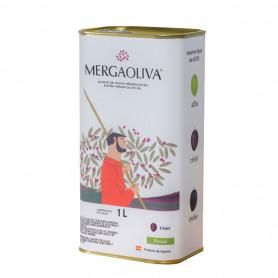 Mergaoliva - Cenit - Picual - 12 Latas 1 L