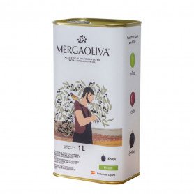 Mergaoliva - Érebo - Picual - Lata 1 L
