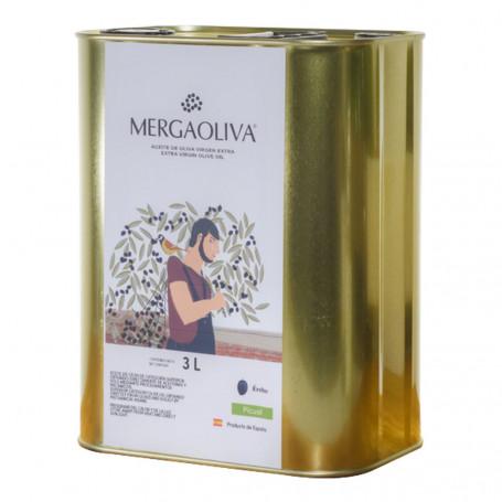 Mergaoliva - Érebo - Picual - Lata 3 L