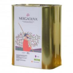 Mergaoliva - Cenit - Picual - 4 Latas 3 L