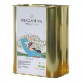 Mergaoliva - Alba - Picual - 4 Latas 3 Litros