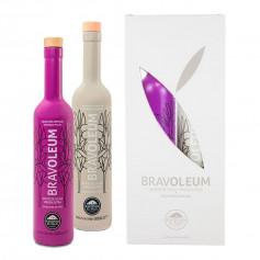 Bravoleum - Picual y Arbequina- Estuche 2 Botellas 500 ml