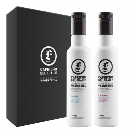 Capricho del Fraile - Coupage y Picual - 3 Estuches de 2 Botellas 250 ml