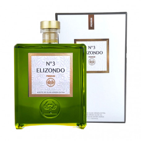 Elizondo - Premium - Picual - Nº3 - Estuche Botella 1L