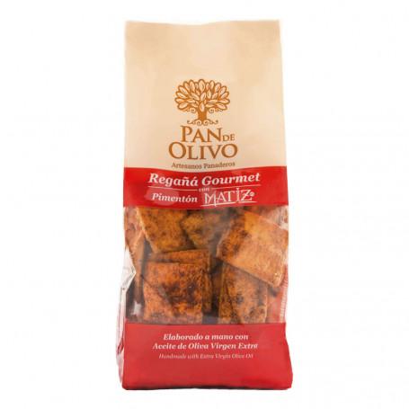 Pan de Olivo - Regañá - AOVE y Romero Ecológico 1 bolsa 200gr