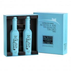 Castillo de Canena - Estuche - Arbequina - Al Humo de Roble - 2 Botellas 250 ml