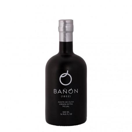 Aceites Bañón - Cosecha Temprana - Picual - 6 Botellas 500 ml