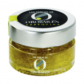 Oro Bailén - Perlas - Arbequina - 15 Tarros 50 gr
