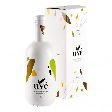 Uvé - Chloris - Orgánico - Picual - 6 Estuches Botella 500 ml