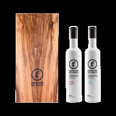 Capricho del Fraile - Picual y Coupage - Estuche Madera 2 Botellas 500 ml