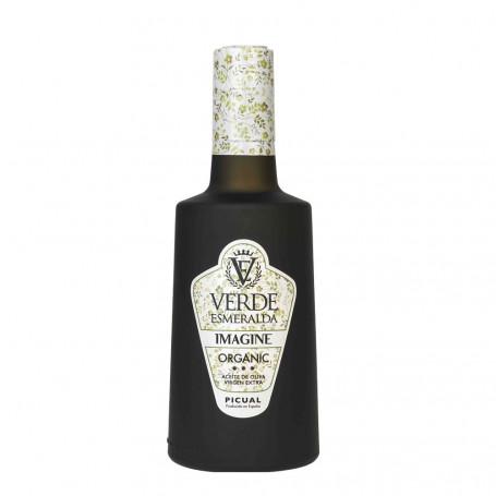 Verde Esmeralda - Imagine - Organic Picual - Botella 500 ml
