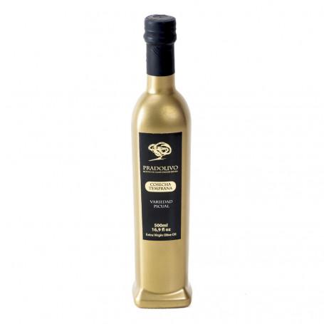 Pradolivo - Cosecha Temprana - Picual - Botella 500 ml
