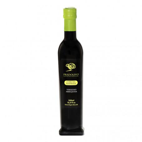 Pradolivo - Cosecha Temprana - Arbequina - Botella 500 ml