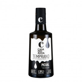 Casa del Agua - Temprano - Picual - Botella 500ml