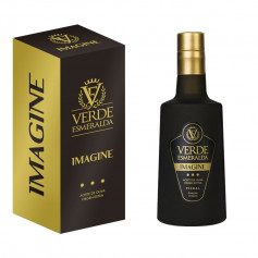 Verde Esmeralda Estuche Imagine Vacío Botella 500 ml