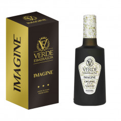 Verde Esmeralda - Imagine - Organic Picual - Estuche Botella 500 ml