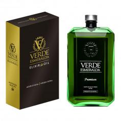 Verde Esmeralda - Premium - Picual - Estuche Botella 500 ml