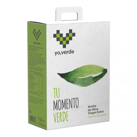 Yo, Verde - Picual - Estuche 2 botellas 500ml