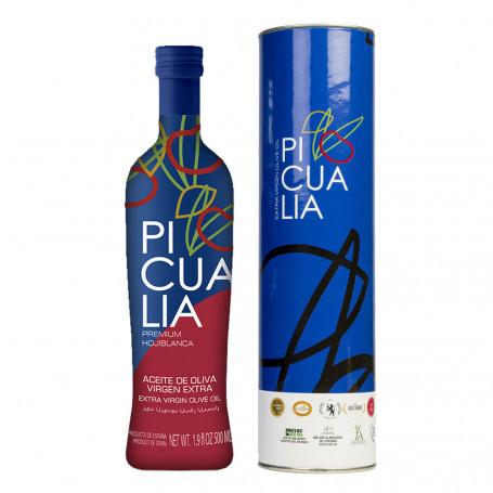 Picualia - Premium - Organic - Estuche Botella 500 ml