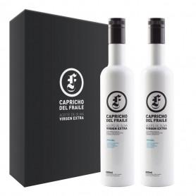 Capricho del Fraile - Picual - Estuche 2 Botellas 500 ml